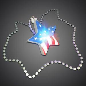 4th of July Star Necklace