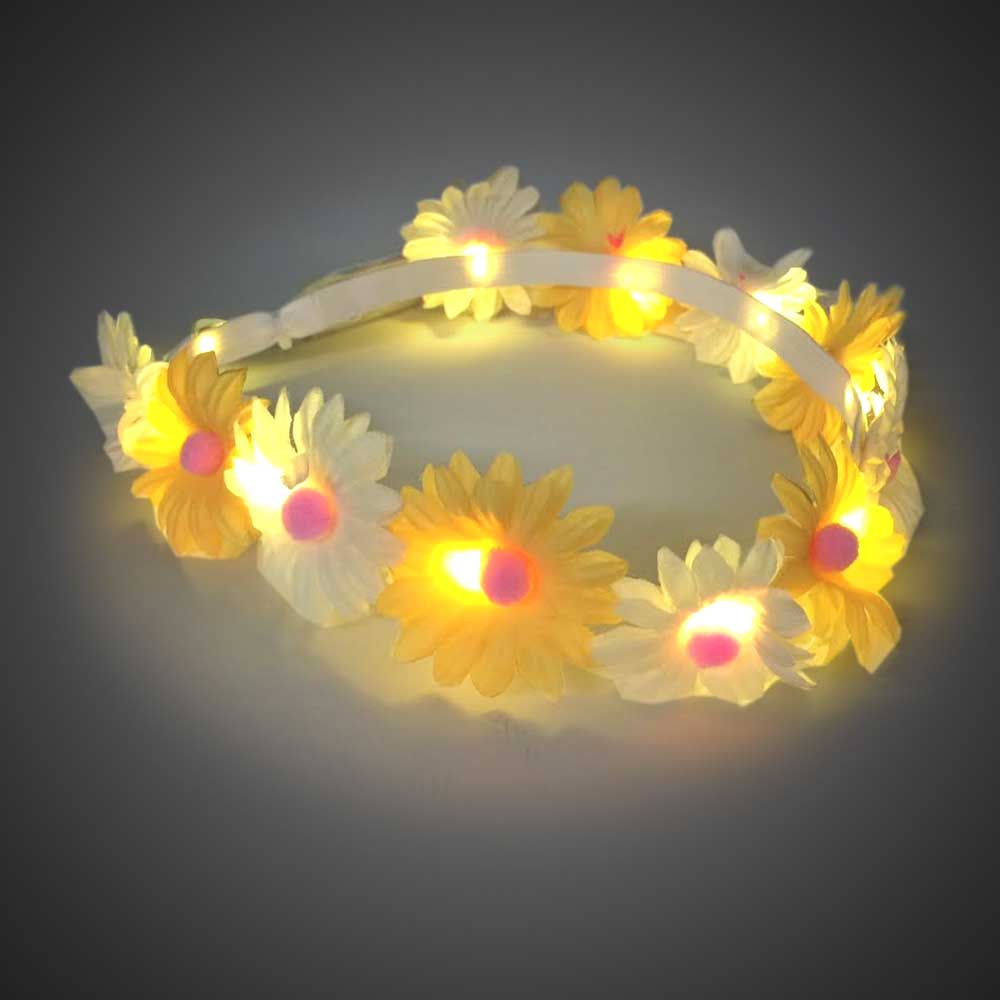Light up Daisy Headband