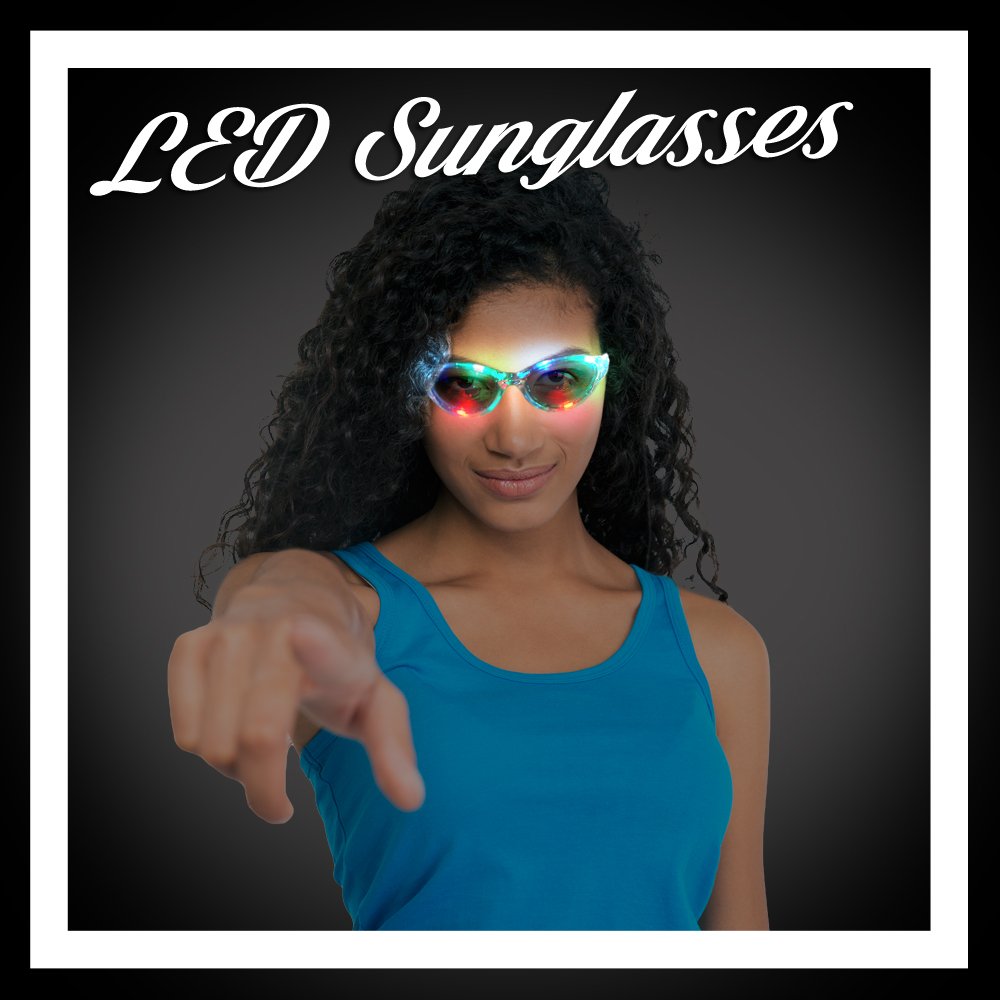 Light Up Sunglasses (LED & EL Wire)