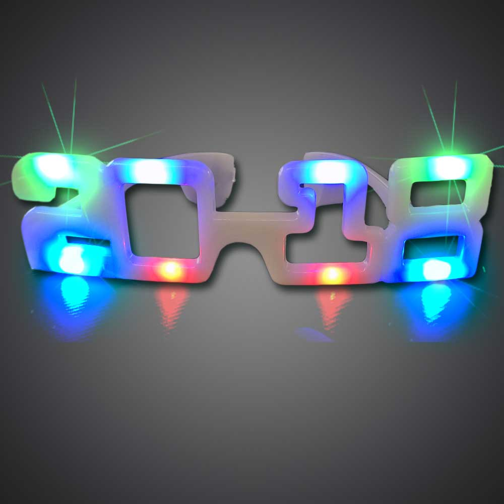 2018 Graduation LED Sunglasses - CLOSE OUT 2018 graduation, Party Sunglasses, lighted sunglasses, light up sunglasses, LED sunglasses, wrap-around lighted sunglasses, wrap-around shades, men, boys, vend, july 4th, party, dance