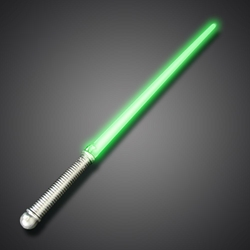 Light Sabers Green Green LED Sword, Green Lighted Sword, Flashing Green sword, battery-operated green sword, green light saber, flashing blade, light up sword, star wars, vending, kids, birthday, fundraiser