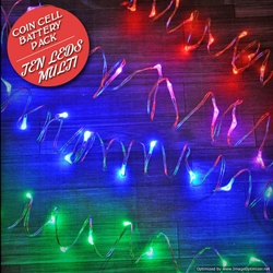10 Colorful Fairy Lights, 20 Inch Wire String Light with Timer, Copper wire string light, dew drop LEDs, Silver Wire string lights, gold wire string lights, craft, tiny lights, leds, small leds, craft, decorations, decor, centerpiece, wedding, party, bar mitzvah, bat mitzvah, hair piece, headband, crown, halo, tiara, Christmas