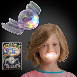 Flashing Mouthpiece flashing mouthpiece, lighted mouthpiece, LED mouth piece, lighted teeth, lighted grill, cheap, redemption, inexpensive, kids, school, fundraiser, church, youth, festival, rave, edm, edc, party