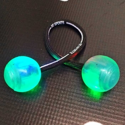 LED Finger CHUCKS thumb chucks, chucks, toy, led flashing toy, flashing chucks, finger balls, finger chucks