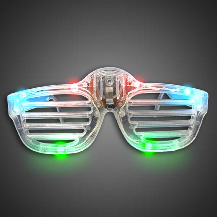 Translucent Rockstar Glasses lighted sunglasses, rktrgb, light up sunglasses, shutter shades, flashing sunglasses, rock star sunglasses, kanye glasses, fundraiser, inexpensive, edc, edm, rave, festival, glow run, neon run