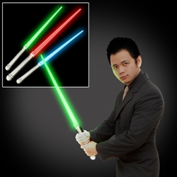 Light Sabers - Available in blue, green, or red