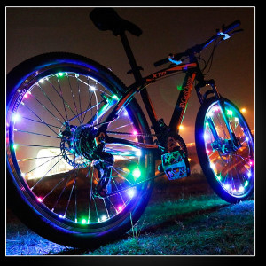 Light Up Bicycle Wheel Lights
