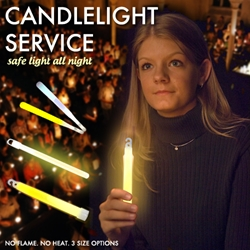 Replace Flames in Candlelight Services with Glowsticks